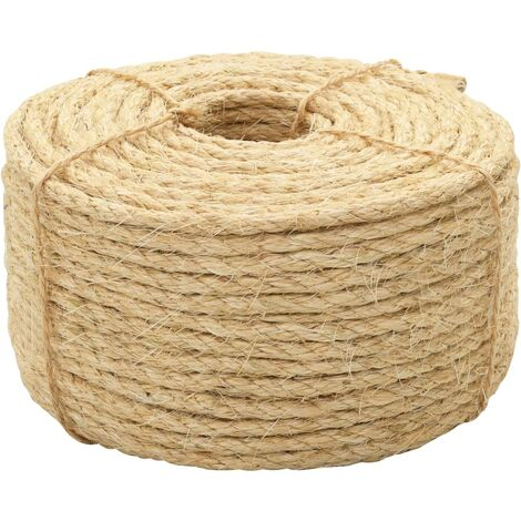 Cuerda 100% sisal 10 mm 100 m