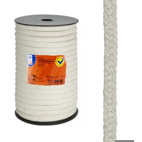 Cuerda Algodon Trenzado 8 Mm - NEOFERR - PH0630 - 50 M