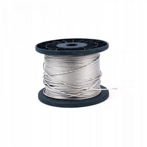 Cuerda de acero cuerda elástica 1.5mm (6x7) 500m