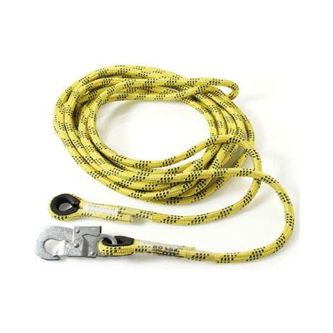 Cuerda diámetro 14 mm para líneas de vida flexibles EN 353-2 ref AC100