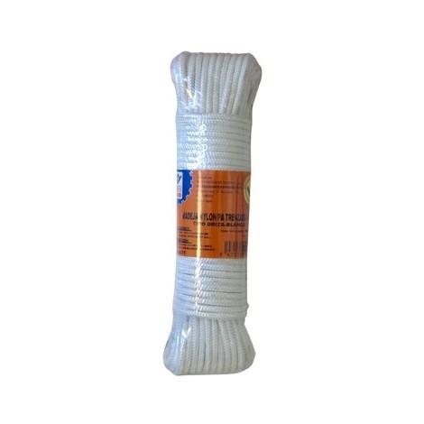 Cuerda Nylon Trenzado 4 Mm Bco - NEOFERR - PH0577 - 20 M
