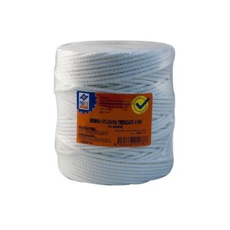 Cuerda Nylon Trenzado 4 Mm Bco - NEOFERR - PH0578 - 200 M