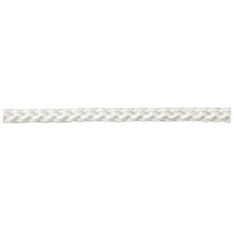 Cuerda polipropileno 3mm tranzado blanco (por 250)
