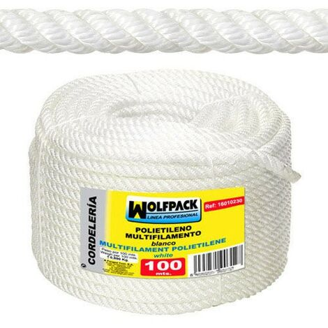cuerda polipropileno multifilamento rollo