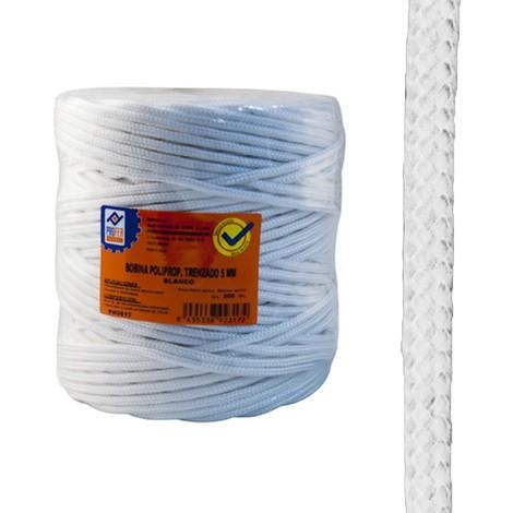 Cuerda Tendedero Polipropileno Trenzada 5 Mm Marron 200 M - NEOFERR