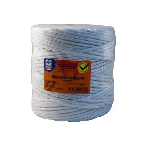 Cuerda tendedero polipropileno trenzado Blanco - NEOFERR - PH0617 - 200 M