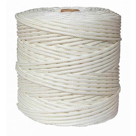 Cuerda Trenzada 05Mm Polipropileno Blanco Hyc 200 Mt