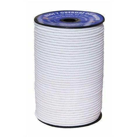 Cuerda Trenzada 06Mm Polietileno Blanco Hyc 200 Mt