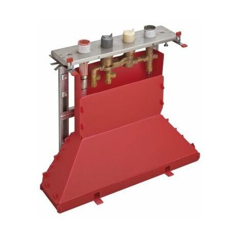 Cuerpo básico del tamaño de una mano para el ajuste del borde de un azulejo de 4 agujeros con termostato - 15483180