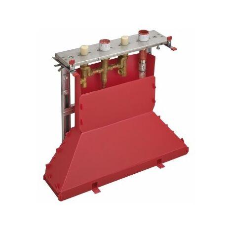 Cuerpo básico Hansgrohe AXOR para la colocación de cantos de baldosas de 4 agujeros - 15481180