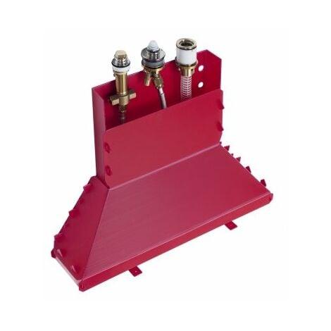 Cuerpo básico Hansgrohe para mezclador de 3 agujeros de llanta monomando de baño 13437180 - 13437180