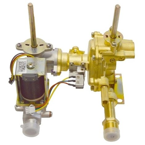 Cuerpo gas calentador NECKAR 8738704745