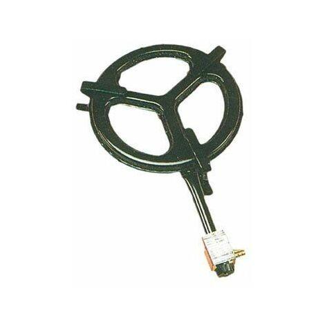 Cuiseur à paella au gaz butane 2 brûleurs plats 35 cm B350 Belseher