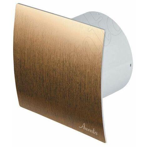 """cuisine salle de bain mur des toilettes ventilation extracteur d'air ventilateur tirette Avec 5 """"125mm or"""