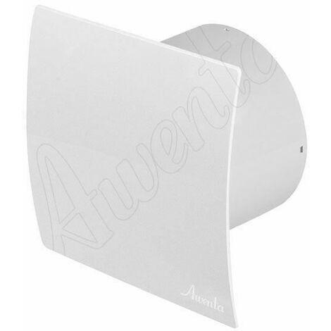 """Cuisine salle de bains hotte de ventilation de mur des toilettes ventilateur avec minuterie 4 """"100mm blanc"""