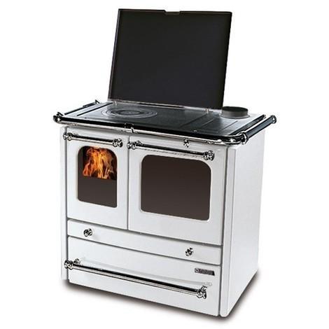 Cuisinière à bois La NORDICA 11,8KW Sovrana Evo | Blanc