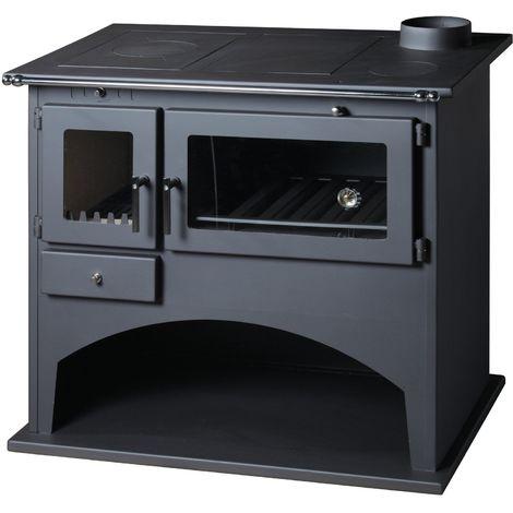 Cuisinière à bois VIKI 10,5kW - 12,5kW