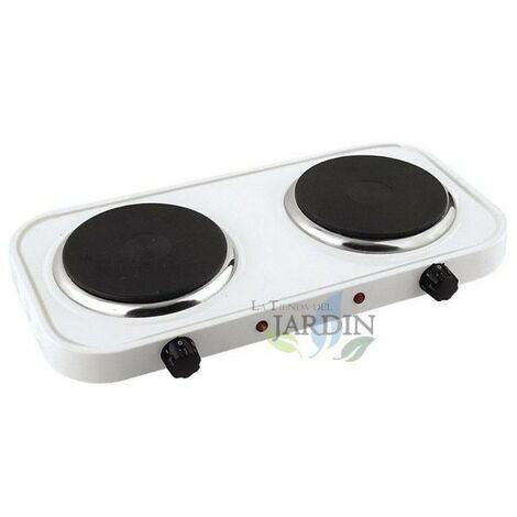 Cuisinière électrique 2 feux 50x29 cm