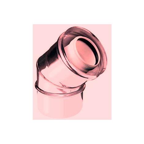 cuivre PPS plastique CONDUIT courbe DN 080/100 45 ° tube DP