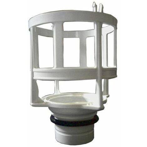 Culot pour soupape : siège de toilette