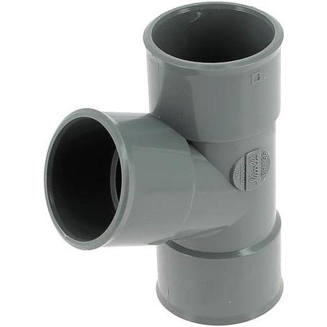 Culotte 67°30 PVC NICOLL Femelle Femelle Ø100