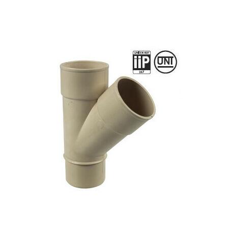 Culotte PVC 45° MF pour tube de descente Ø50