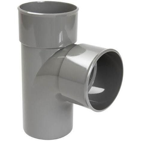 Culotte simple PVC Vidange 90° Mâle Femelle