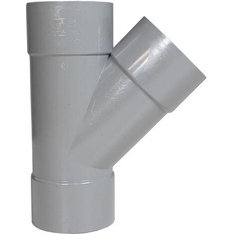 Culottes PVC 45° personnalisables First Plast Femelle/Femelle - Ø 40 mm à 125 mm