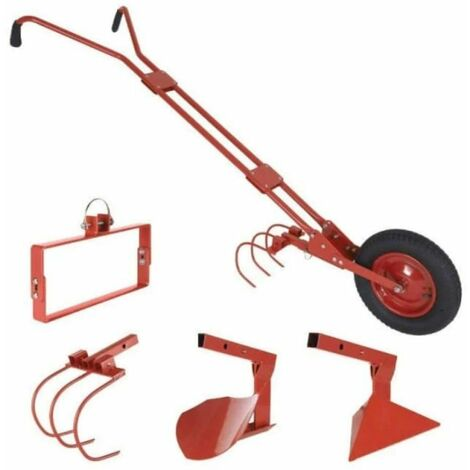 Cultivateur à roue / houe maraichère Rouge