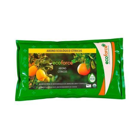 CULTIVERS Abono Ecológico Cítricos de 1,5 Kg. Especial Fertilizante Origen 100% Orgánico y Natural Microgránulado