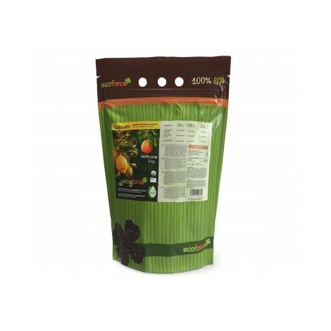 CULTIVERS Abono Ecológico Cítricos de 5 Kg. Especial Fertilizante Origen 100% Orgánico y Natural Microgránulado