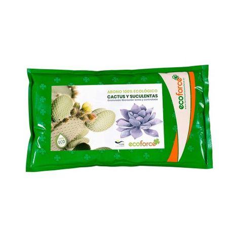CULTIVERS Abono Especial Cactus y Suculentas de 1,5 Kg. Fertilizante ecológico de liberación Lenta y controlada