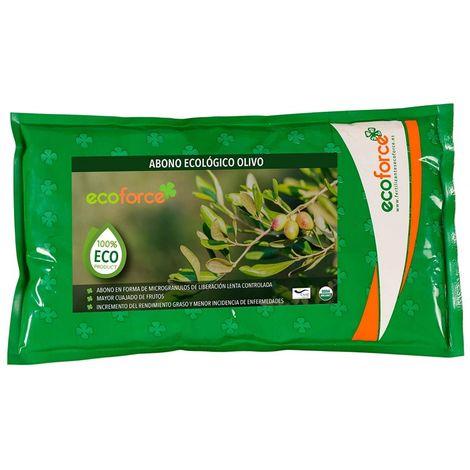 CULTIVERS Abono - Fertilizante Ecológico de 1,5 Kg Especial Olivo y Plantas Mediterráneas