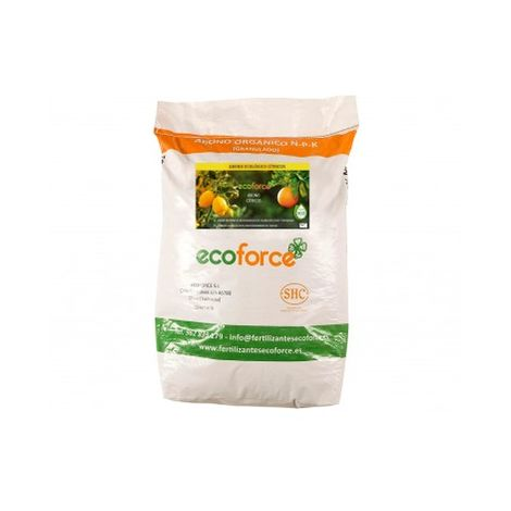 CULTIVERS Abono - Fertilizante Ecológico de 25 Kg Especial Cítricos