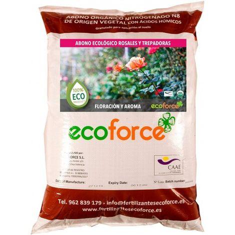 CULTIVERS Abono - Fertilizante ecológico de 25 kg Especial Rosales y Trepadoras
