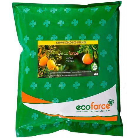 CULTIVERS Abono - Fertilizante Ecológico de 5 Kg Especial Cítricos