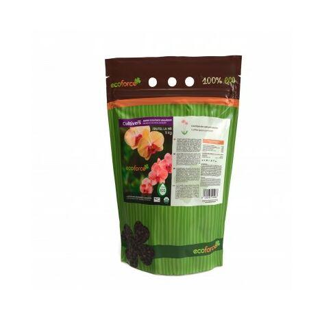 CULTIVERS Abono - Fertilizante Ecológico de 5 Kg Especial para Orquídeas