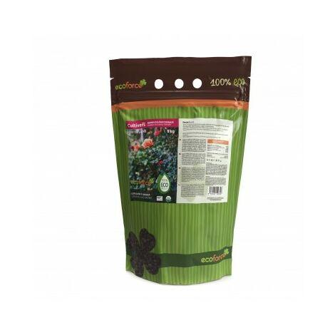 CULTIVERS Abono - Fertilizante ecológico de 5 kg Especial Rosales y Trepadoras