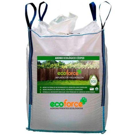 CULTIVERS Abono - Fertilizante Ecológico de 900 kg Especial Césped. Origen 100% Orgánico y Vegano