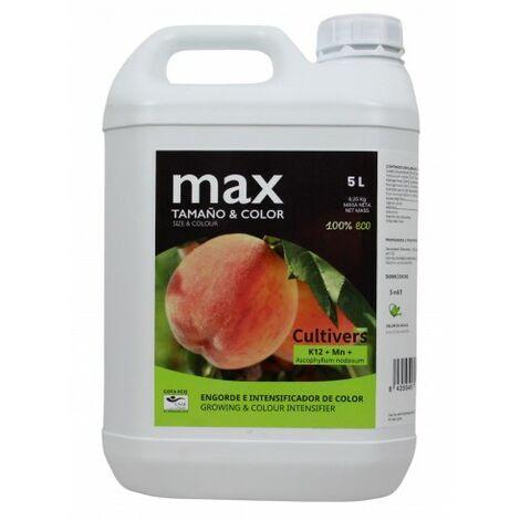 CULTIVERS COTA Eco 5 L. Estimulante para Mejorar la Calidad del Fruto Libre de hormonas sintéticas. Producto para el cuajado