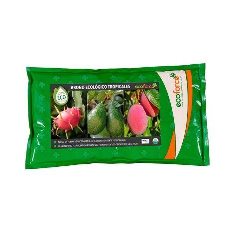 CULTIVERS Fertilizante ecológico de 1,5 kg Especial Tropicales para Aguacate, Mango, Litchi, Pitahaya, Papaya y Guayaba