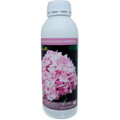 CULTIVERS Fertilizante Ecológico Hortensias Líquido 1 L. Mayor Floración y Intensifica el Color. Plantas sanas y Fuertes