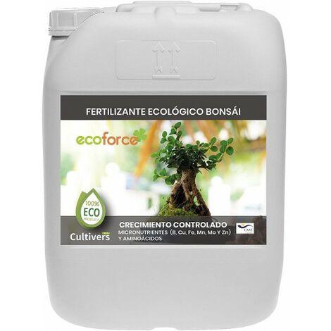 CULTIVERS Fertilizante Ecológico para Bonsái de 20 L Líquido con Micronutrientes y Aminoácidos. Abono 100% Orgánico y Natural