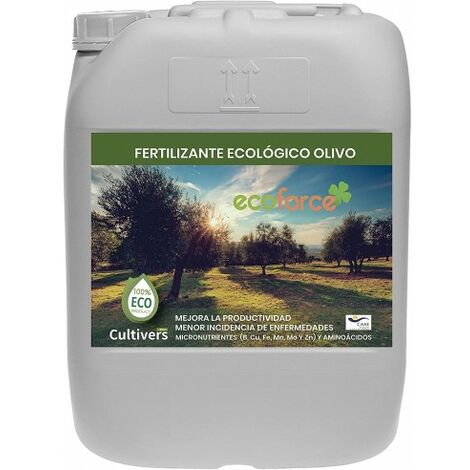 CULTIVERS Fertilizante Ecológico para Olivo Líquido de 20 L