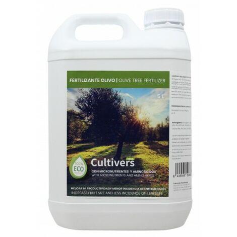 CULTIVERS Fertilizante Ecológico para Olivo Líquido de 5 L