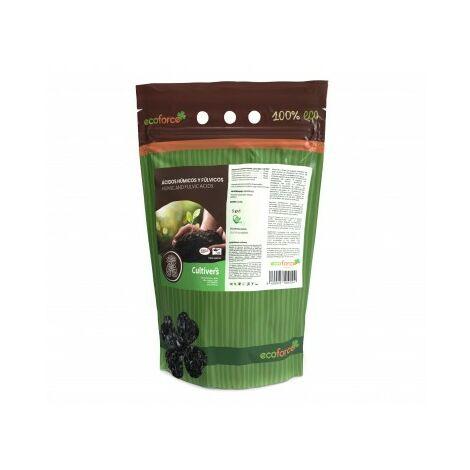 CULTIVERS Force-Humic HD 82 de 5 kg. Solución soluble al 82% de ácidos húmicos y fúlvicos con leonardita