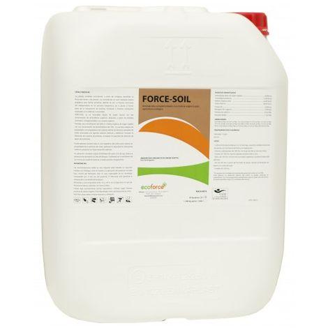 CULTIVERS Force-Soil de 20 L. Materia orgánica liquida ecologica Altamente concentrada al 50% de Origen Vegetal