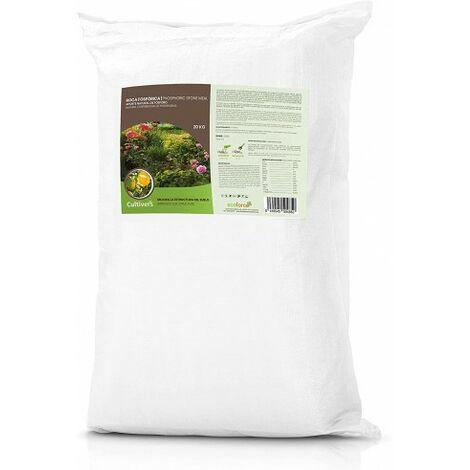 CULTIVERS Force-Stone P 20 Kg. Roca fosforica Que Proporciona un aporte de fosforo 100% ecológico