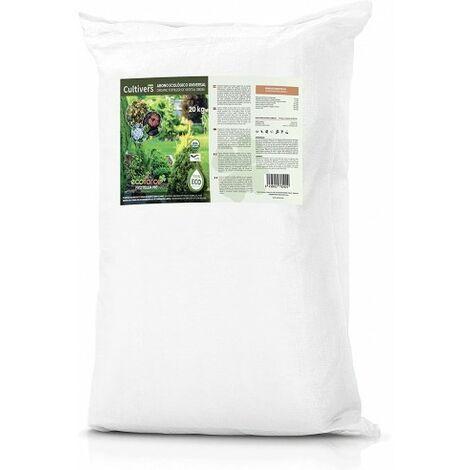 CULTIVERS Frutella N8 de 25 kg. Abono Universal para Plantas ecológico granulado de Alta disolución