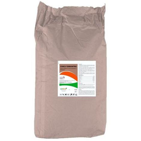 CULTIVERS Harina de sangre 25 Kg. Abono ecológico con alto contenido en nitrógeno y materia orgánica
